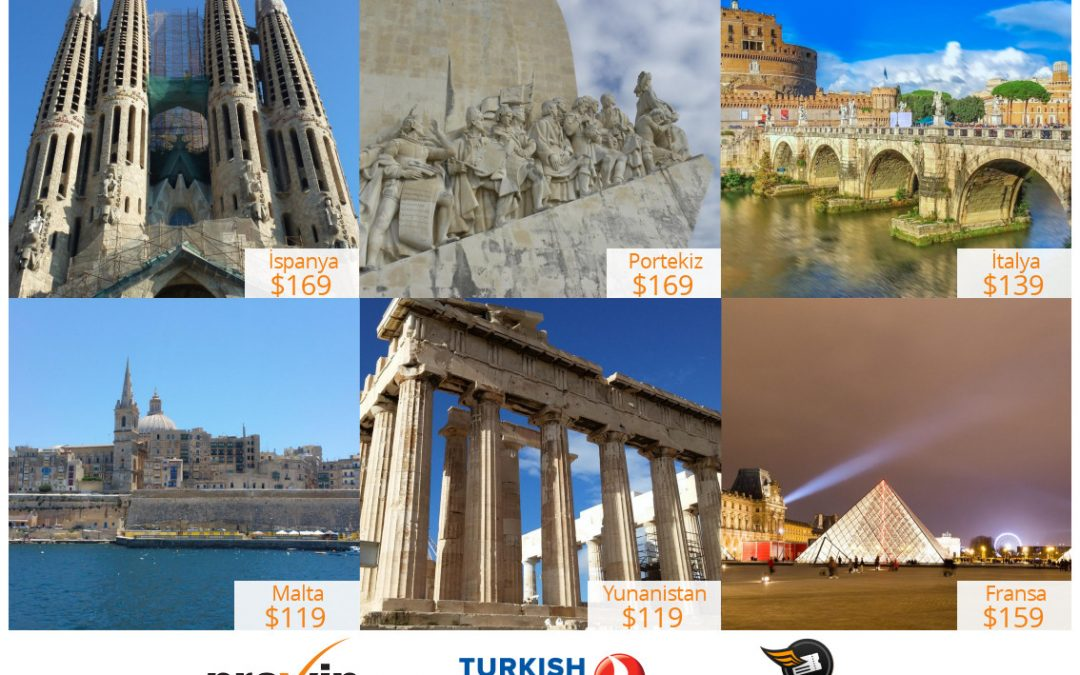 Güney Avrupa'da Ilık Bir Kış Deneyimi