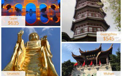 China Southern ile Uzak Doğu Promosyonları