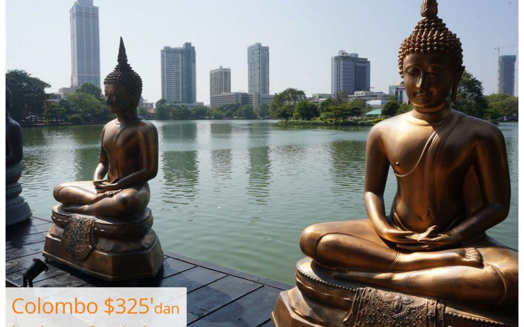 İstanbul – Colombo – İstanbul Sadece $325'dan Başlayan Fiyatlarla SriLankan Airlines İle