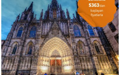 Türk Hava Yolları ile Barselona Gidiş-Dönüş $363'dan Başlayan Fiyatlarla