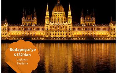 Budapeşte'ye THY ile $131,35'den Başlayan Fiyatlarla Uçun
