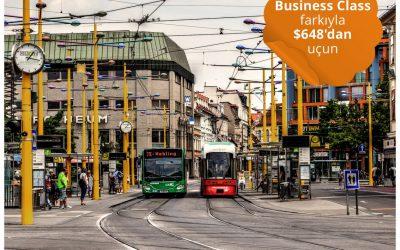 Graz'a Türk Hava Yolları Business Class Keyfiyle Gidiş-Dönüş $648'dan Başlayan Fiyatlarla Uçun