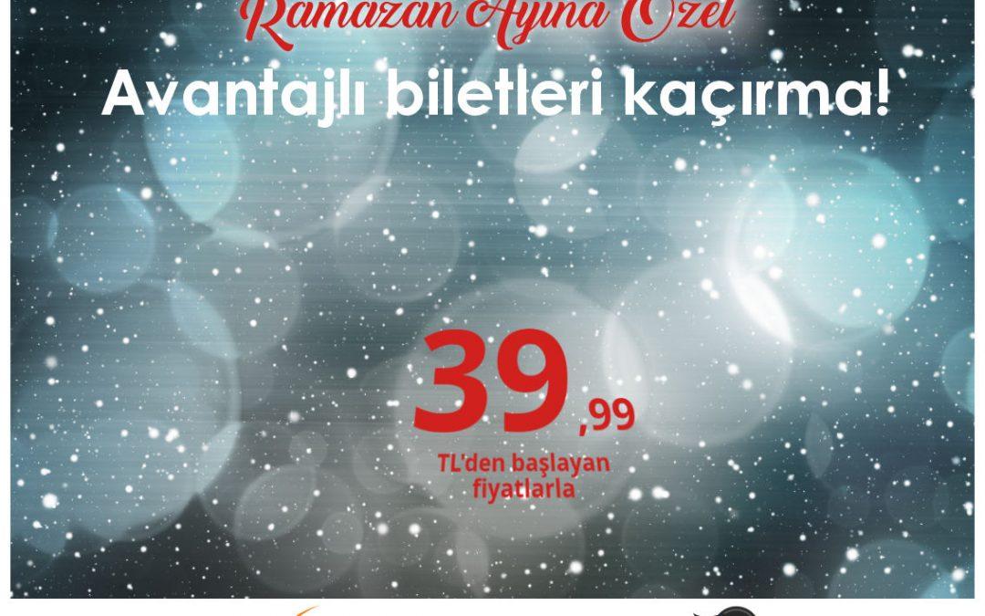 Anadolujet'ten Ramazan Ayına Özel Kampanya
