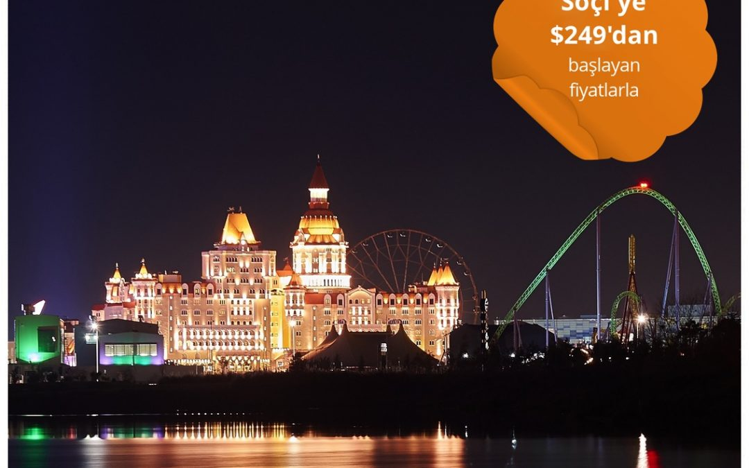 8-14 Mart Arasında Soçi'ye Gidiş-Dönüş $249'dan Başlayan Fiyatlarla Uçun