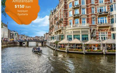 Kral Günü için Amsterdam'a $150'dan Başlayan Fiyatlarla Uçun!
